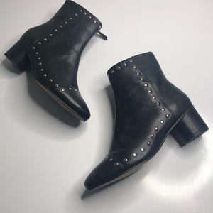 Rebecca Minkoff Black studded booties item#49
